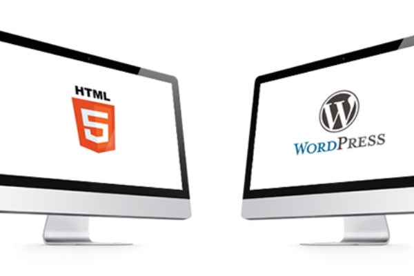 HTML template vs WordPress theme